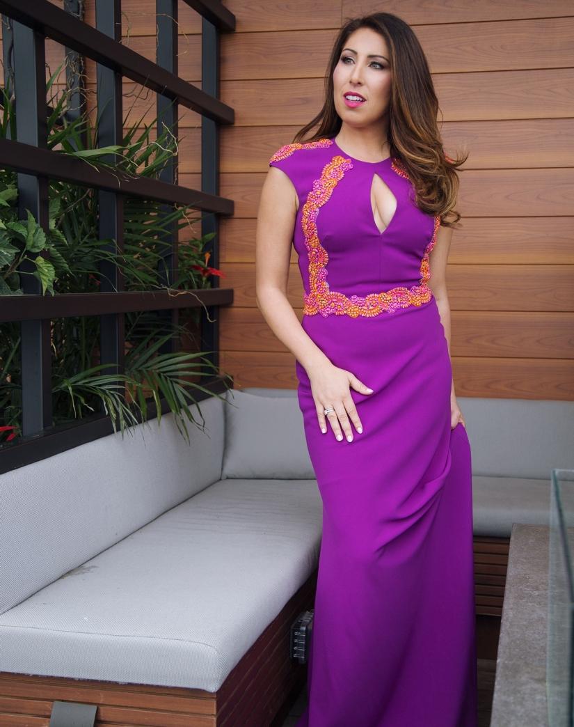 Lucian Matis gown