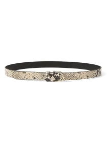 Add a belt with your pants, or over a dress or blazer. This belt from Banana Republic
