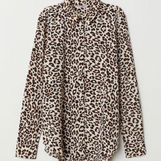 Leopard print top, H & M